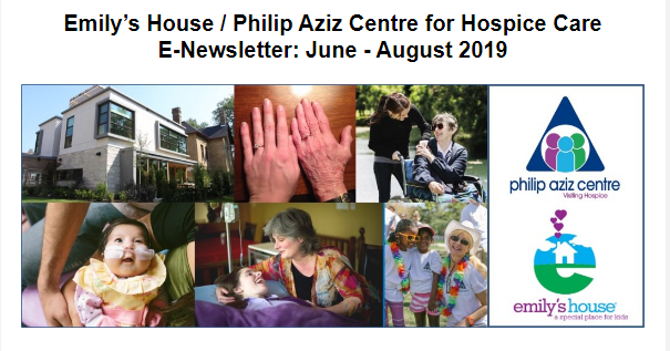 Emily's House E-Newsletter